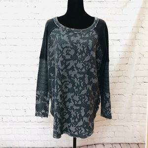 Free People long sleeve with zipper